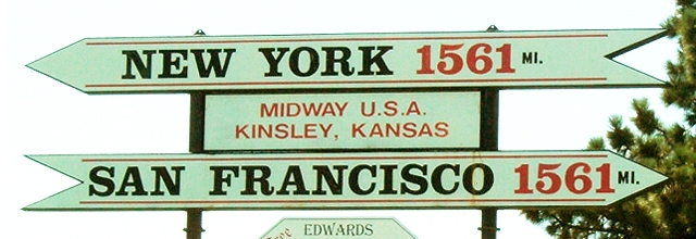 Midway USA Sign