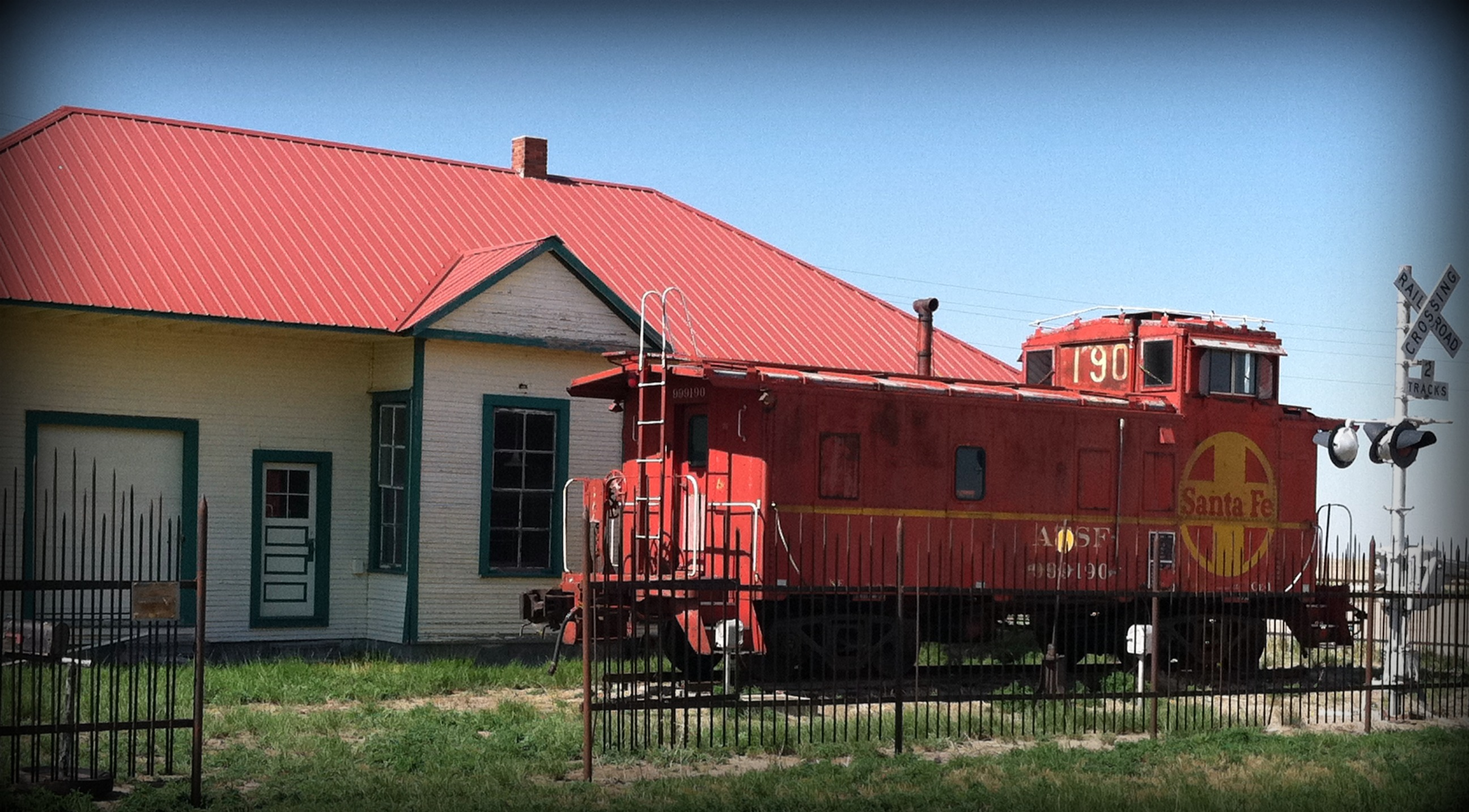 Selkirk Depot and Caboose