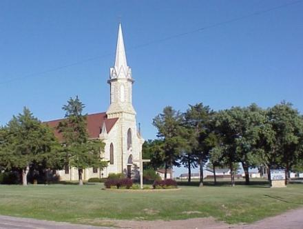 St. Catherine Catholic Church, Catharine, Kansas